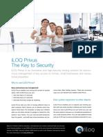 ILOQ Privus Brochure