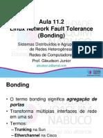 Aula 11.2Linux Network Fault Tolerance (Bonding)