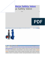 Cara Kerja Safety Valve
