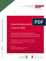 Zukunftsstudie-Unternehmensnachfolge 2030