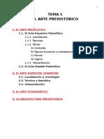 1 Apuntes Arte Prehistórico