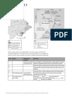 978019 IGCSE Geography Worksheet 2.1