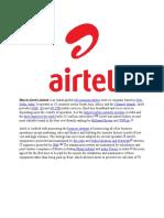 Airtel 6 Wiki