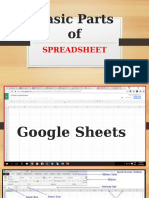 Spreadsheet (Google Sheets)