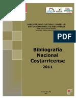 Bibliografia Nacional 2011(w.sinabi.go.Cr Biblioteca Digital Bibliografia Bibliografias Bibliografia_nacional