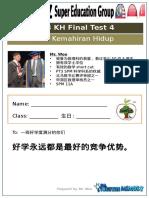 PT3 KH Final Test 4