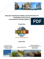 CREST. 2012. Sustainable Coastal Tourism Models