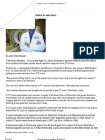 Doctors Work on Radiation Problem