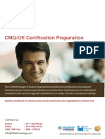 CMQ Exam Preparation 3FOLD V1