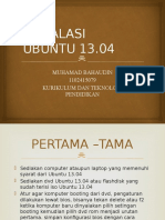 Instalasi Ubuntu 13.04