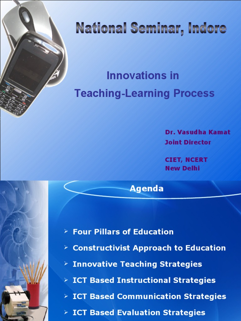 Innovations In Teaching Learning Process Indore Educational