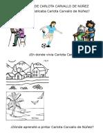 Biografía de Carlota Carvallo de Núñez
