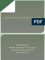Capitulo 1-Medio Ambiente.concepto.interdisciplinaridad.estado Actual