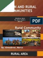 Urban&Rural
