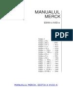 Manualul Merck Editia 18 Limba Romana
