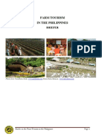 Briefer on Farm Tourism in the Phils With News Articles_CSSG