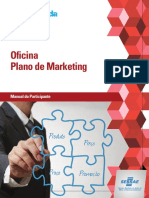 Oficina Plano de Marketing. Manual Do Participante