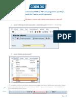 Astuce SAP Generation PDF