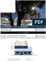 Economics of Solar Rooftop