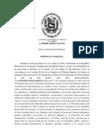 SALA CONSTITUCIONAL Presupuesto de La Nacion 2017