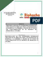 PROYECTO CARACTERIZACION RIOHACHA