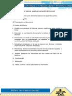 Parámetros Básicos Para La Presentación de Informes