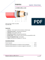 Data Sheet 35 KV Cable
