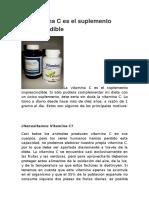 La Vitamina C es el suplemento imprescindible.doc