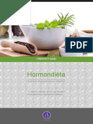 hormon diéta étrend