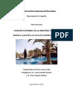 Gestion Sostenible en La Industria Turistica