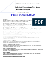 Chapter 18 Soils and Foundations New York Building Code