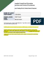 2014 Audit Program