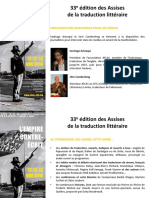 33e Assises de la traduction littéraire - du 11 au 13 novembre 2016 à Arles