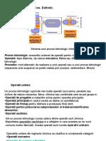 operatii unitare in industria de proces