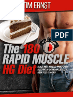 180 Muscle Weight Gain Method