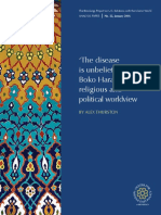 THURSTON - 'the Disease is Unbelief' Boko Haram's Religious and Political Worldview