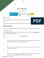 Tcl File I_O