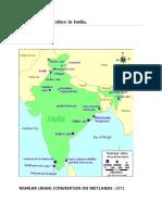 List of Ramsar Sites in India