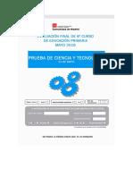 6º Prueba y Solucionario CDI Tecnologia 2015-2016