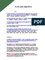 Adverb and Adjectives الصفات والاحوال