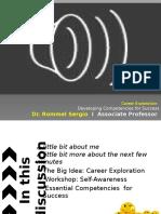 PPT on Career Exploration V2