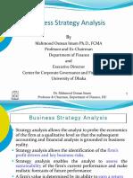 Business Stragegy Analysis