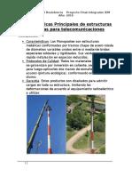 Características Principales de Estructuras Metálicas Para Telecomunicaciones