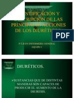 Accion de Los Diureticos Eq. 1