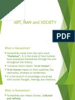 Art, Man and Society