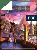 7 Wonders - Manual