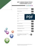 Ricoh Mp c4503 Users Manual 121107