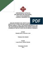 Analisis Dinamico en Estructuras Guayaquil