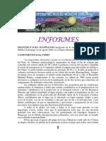 Informes Encuentro Mundial 2016