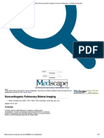 Noncardiogenic Pulmonary Edema Imaging_ Overview, Radiography, Computed Tomography